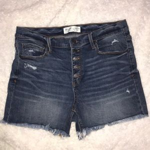 Mudd brand jean cut off shorts